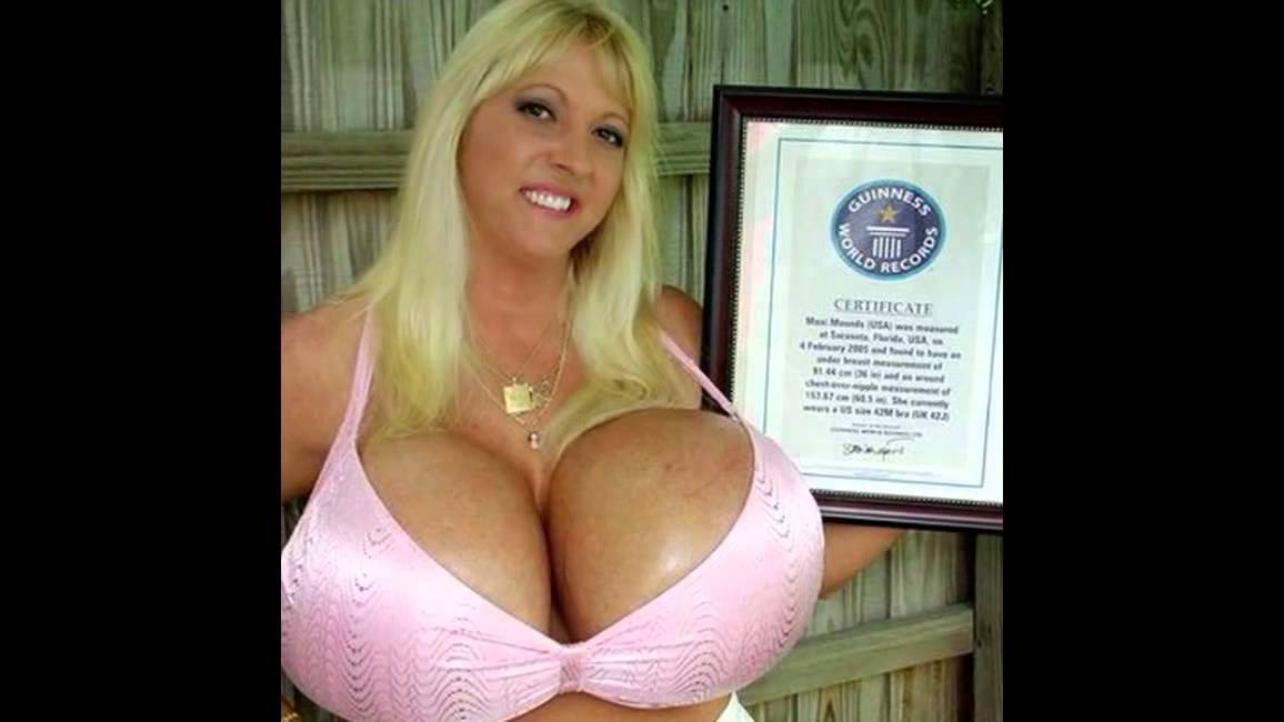 Biggest titts in the world