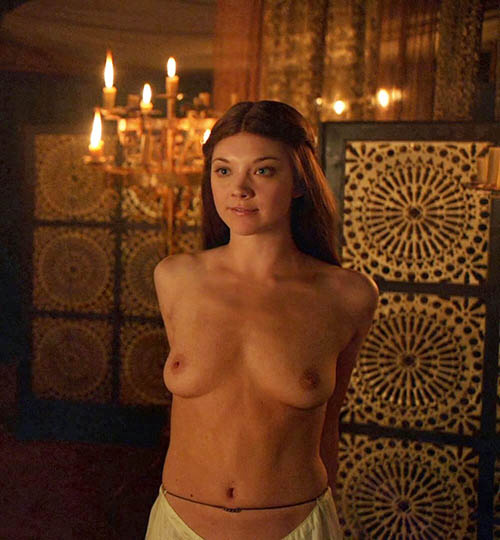 Natalie dormer flashing her boobs game of thrones photo 2