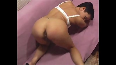 Bdsm fetish mature spandex bondage