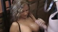 Evilangel anal riding and squirting for horny blonde