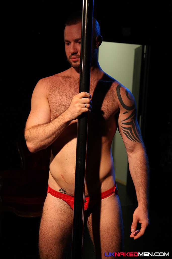 Uk naked men riding the pole justin king dominic north