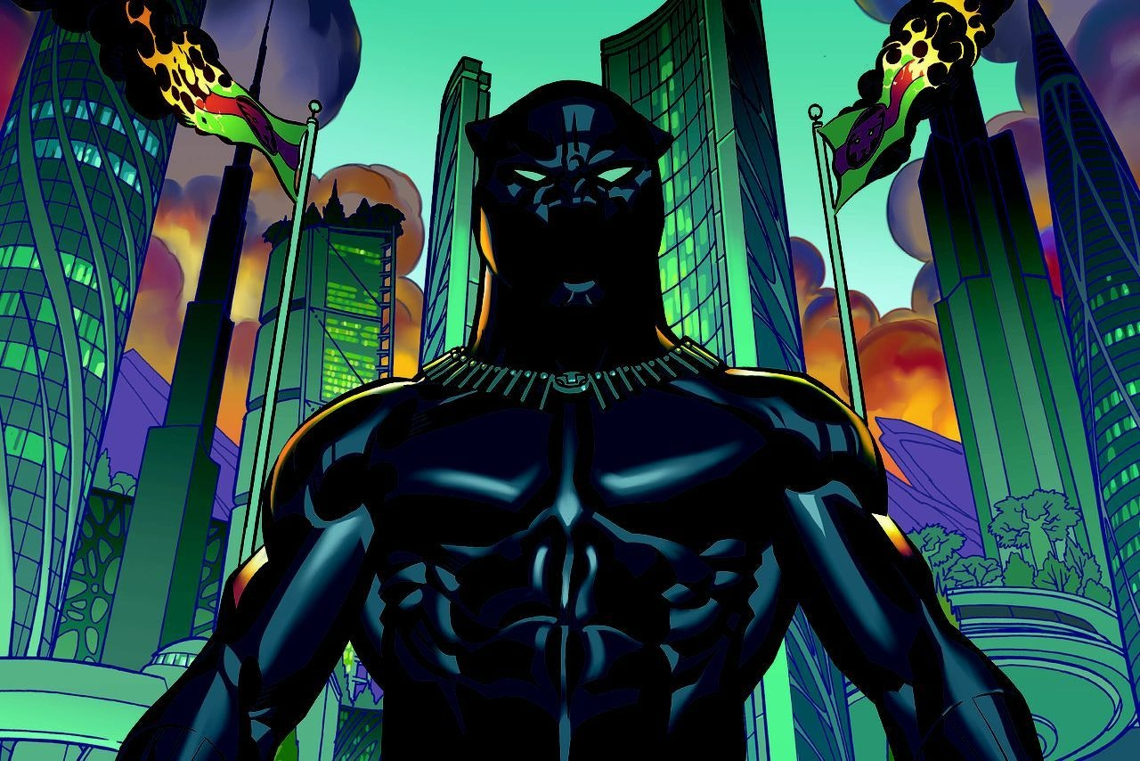 Black panther series from ta nehisi coates and brian