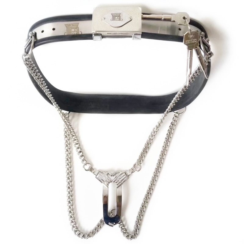 Bdsm fetish metal bondage chastity