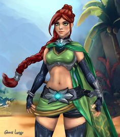 Paladins cassie sexy girl team go sexy photo 2