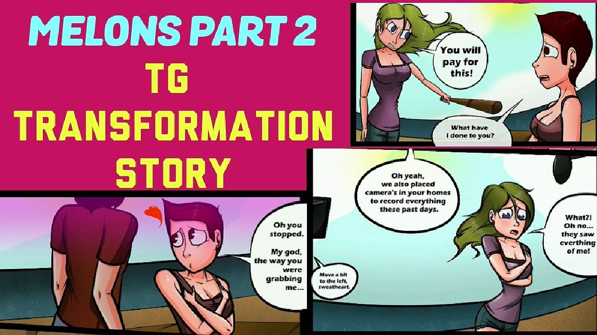 Animated male to female transformation