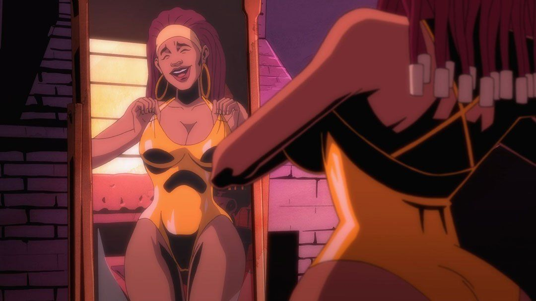 Black dynamite cartoon porn xxx