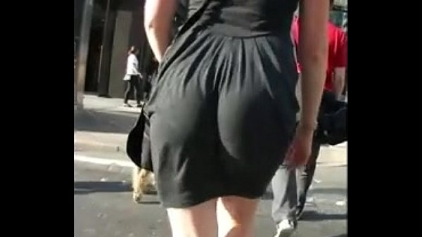 Candid big ass walking in tight work dress free porn