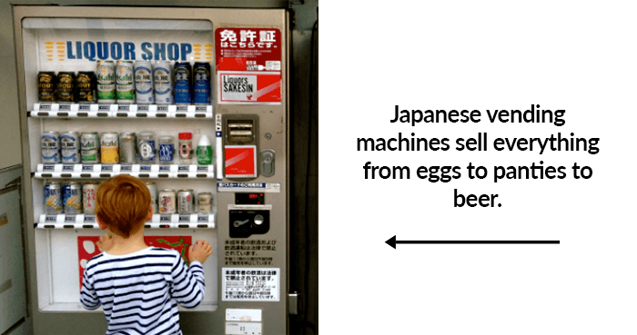 Japanese vending machine prostitute hooker