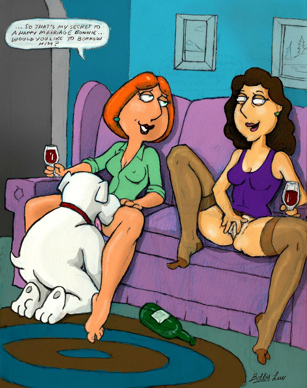 Lois griffin eating pussy