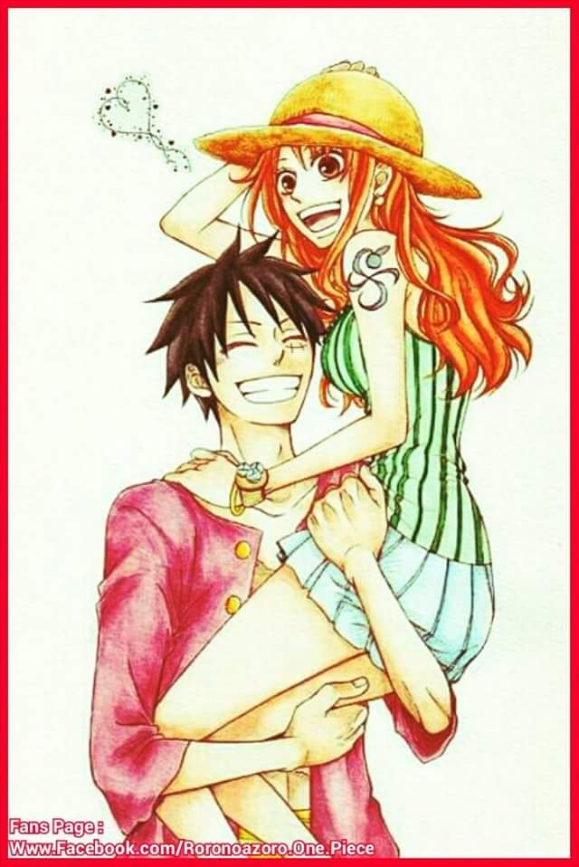 Luffy nami one piece preview photo 4