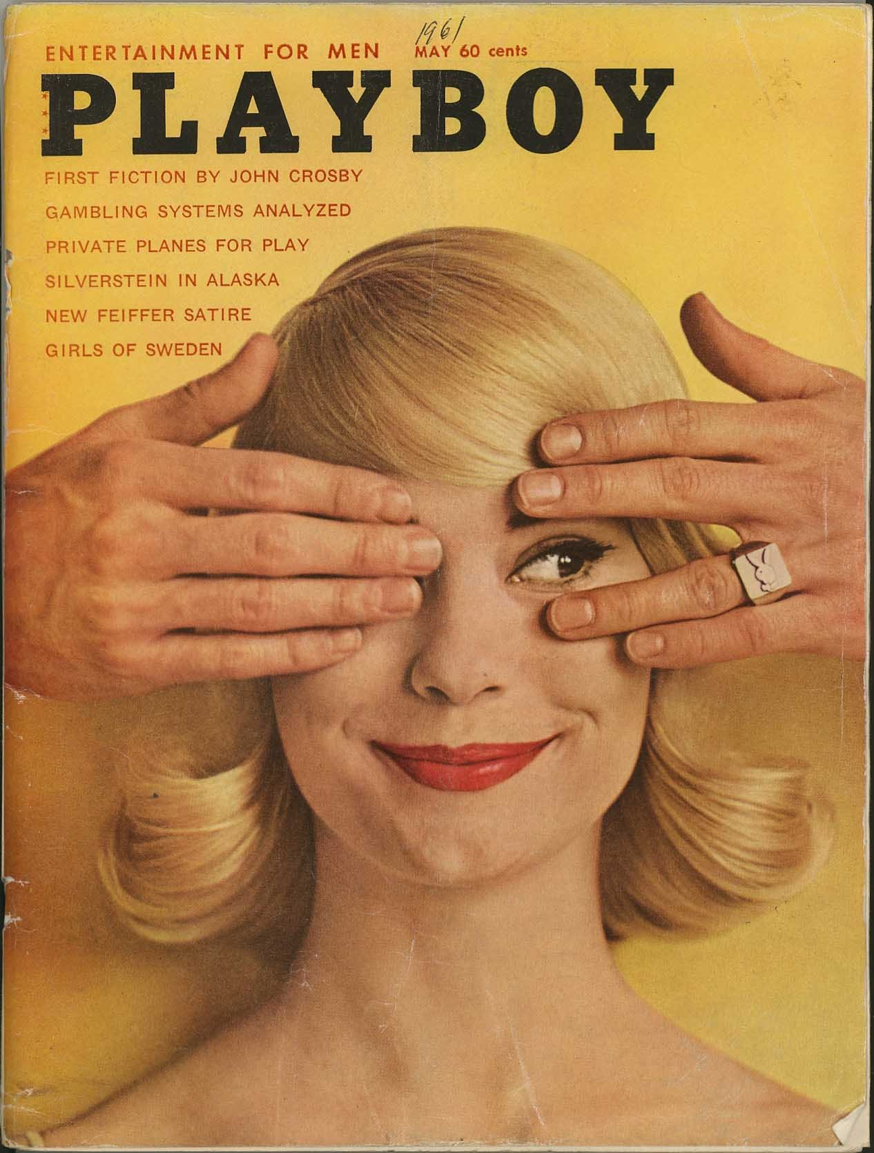 Playboy centerfold may 1960 vintage