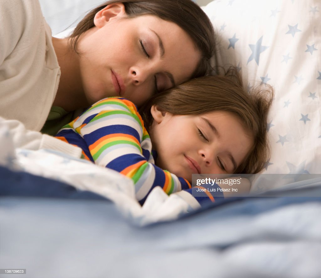 Son sleeping with his mother photo 4