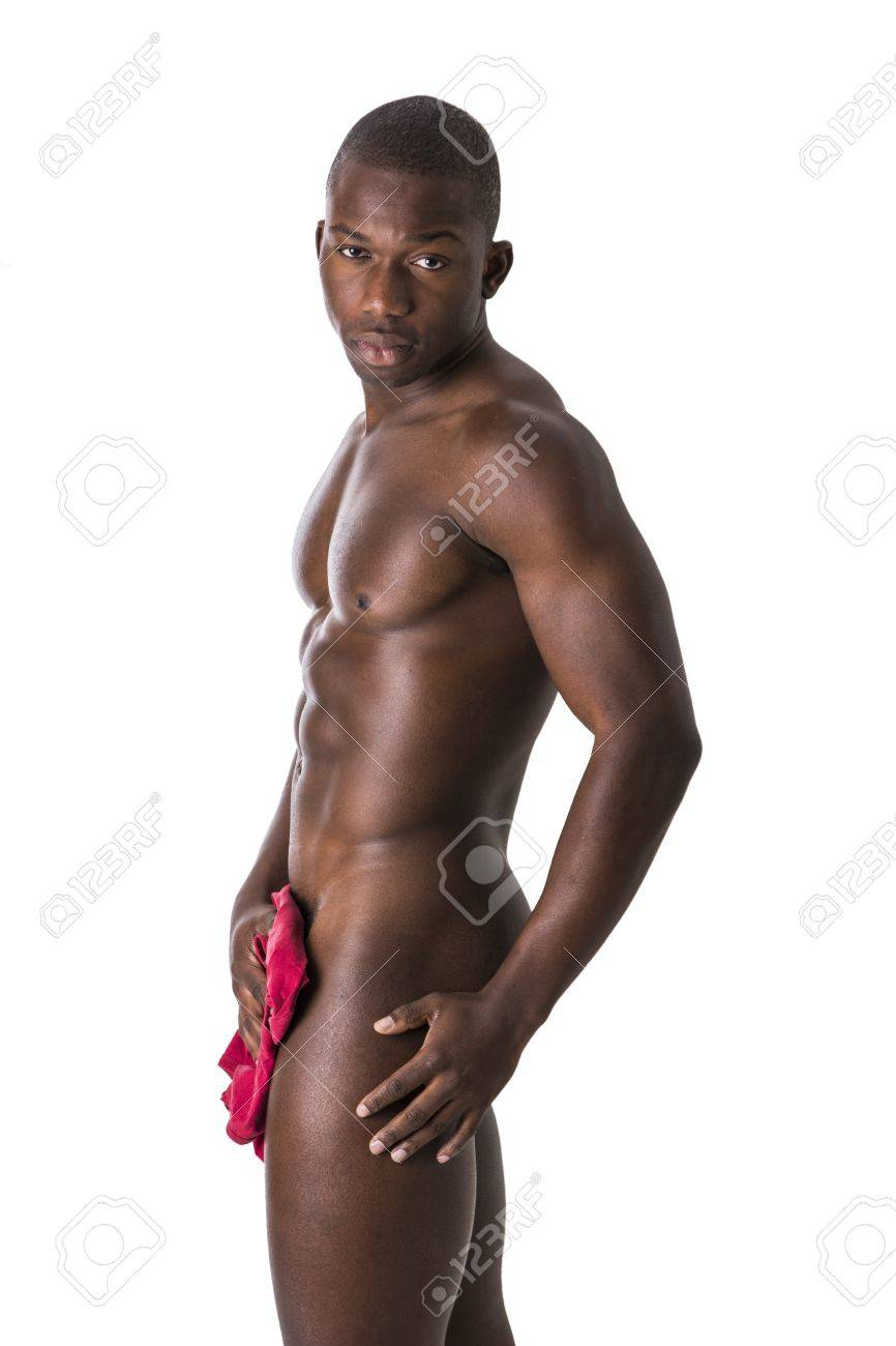 Young black males naked