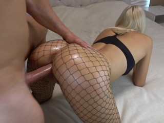 Dana humps sinn from behind tribbing de armond and humping